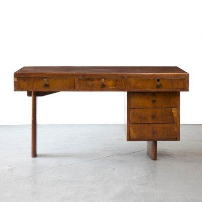 Desk in jacaranda.