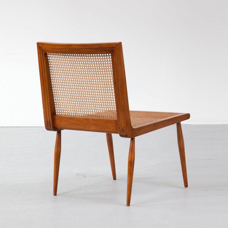 Low Bedroom Chair in caviona