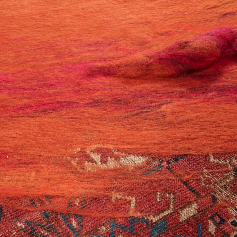 'RETOLD: Tekke Madder' carpet