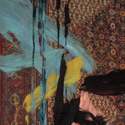'RETOLD: Bidjar Iron' carpet