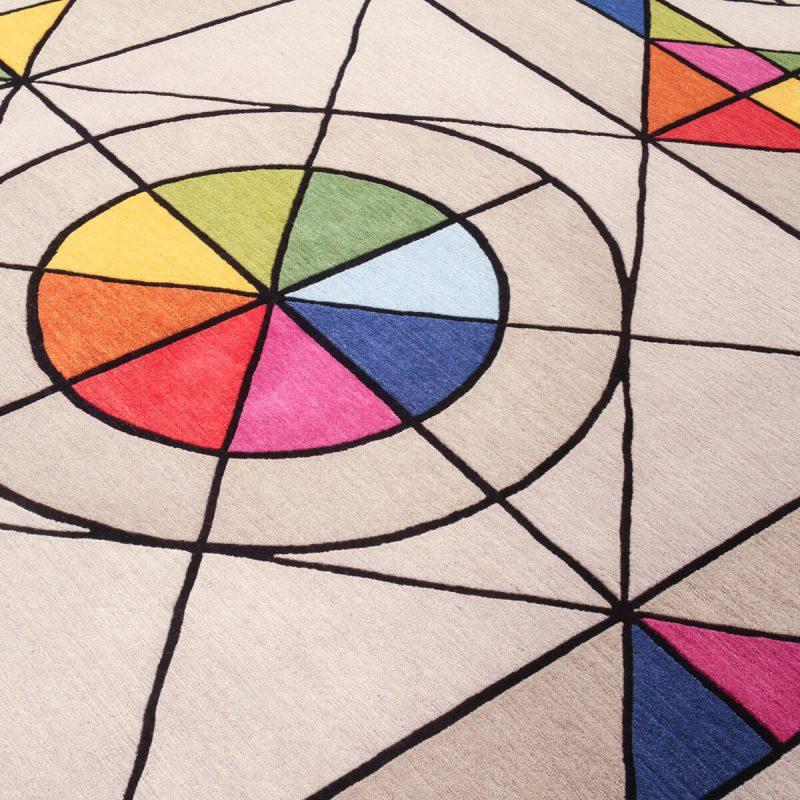 'Universe' carpet in wool