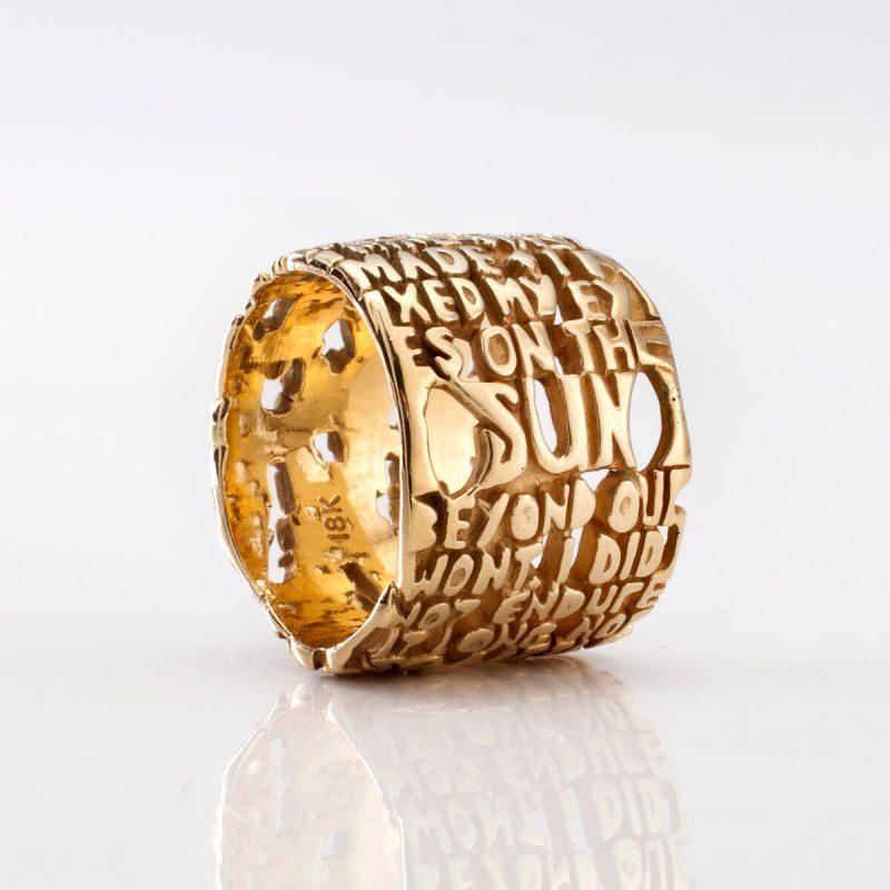 Heaven-III Ring, in 18k gold