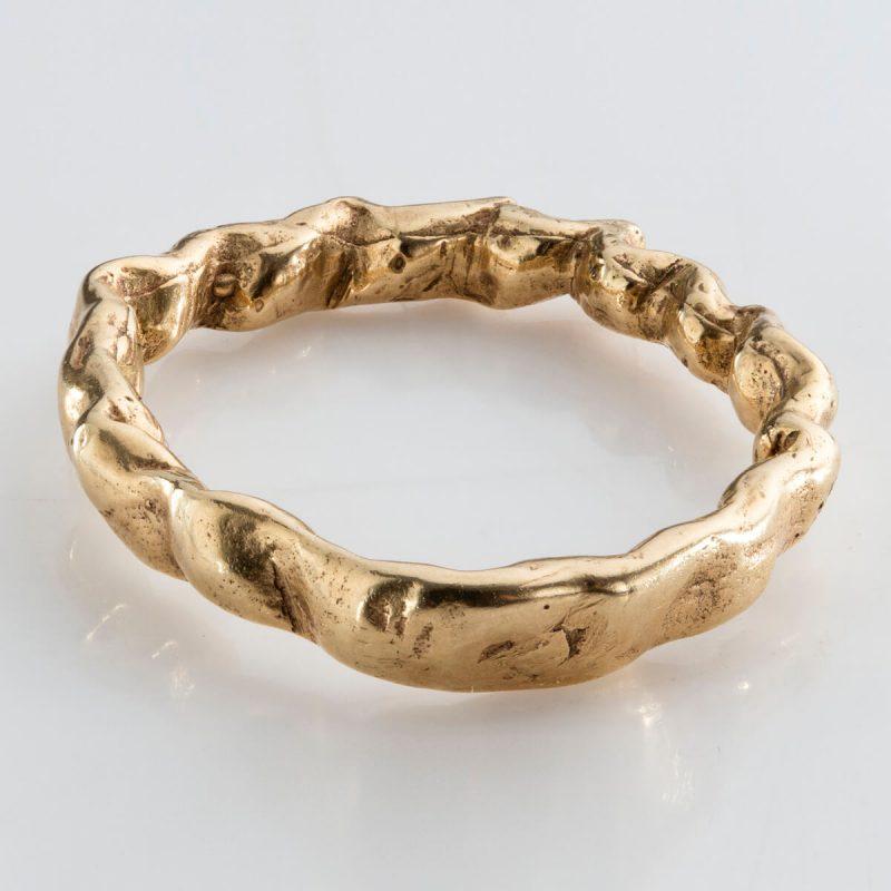 Baroque 4 ring in 18k gold