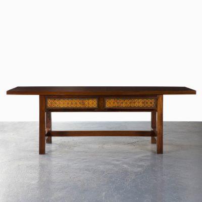 Console table in jacaranda